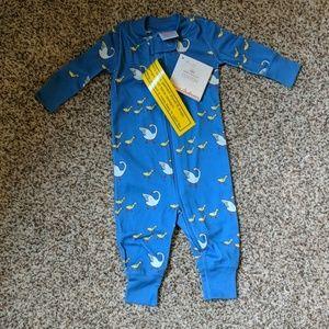 NWT Hanna Andersson 0-3m zippered sleeper